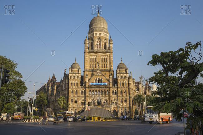 October 20, 2016: Brihan Mumbai Mahanagarpalika, Government offices, Mumbai, Maharashtra, India, Asia