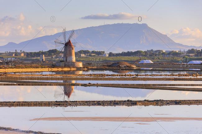 Saline dello Stagnone, Marsala, province of Trapani, Sicily, Italy, Mediterranean, Europe