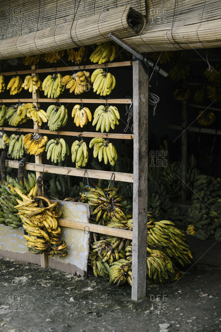 Banana storefront exterior in Bali