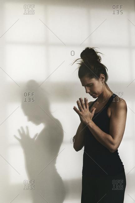 Woman doing yoga - Offset Collection