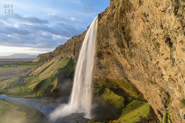 Seljalandsfoss waterfall, south coast, Iceland
