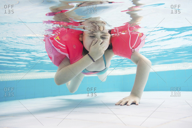 7 year old girl stock photos - OFFSET