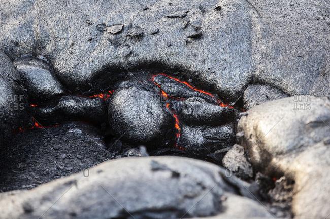 Hawaii- Big Island- Hawai'i Volcanoes National Park- lava