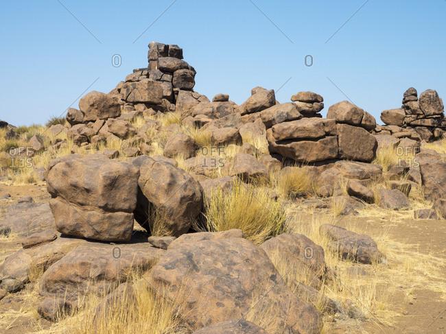 Africa- Namibia- Giant's Playground