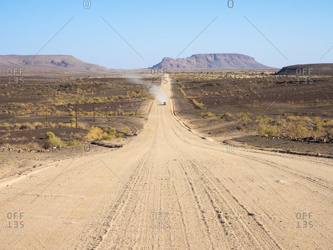 Africa- Namibia- gravel road- C12 road