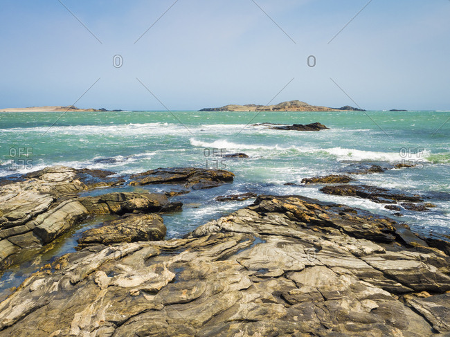 Africa- Namibia- Luederitz- Diaz Point- South Atlantic