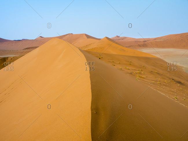 Africa- Namibia- Namib desert- Naukluft National Park- Sossusvlei- Dune 45