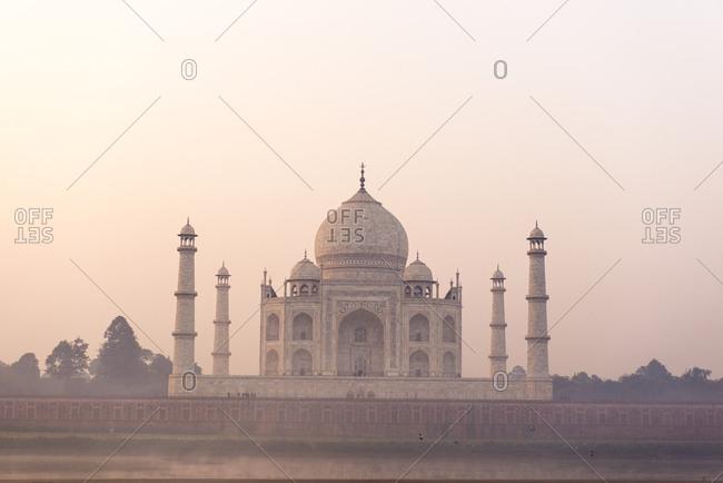 Taj Mahal at dawn, India