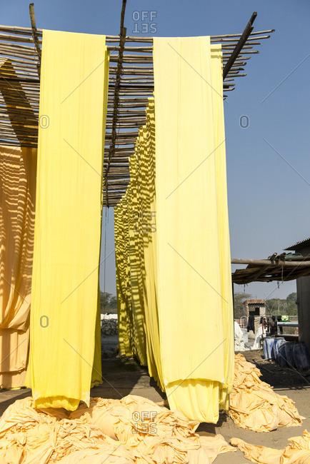 Textile factory, Jaipur, India