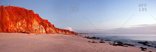 Sunset over Cape Leveque, Australia