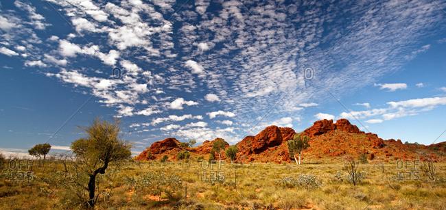 Landscape of the Karijini National Park, Pilbara, Australia