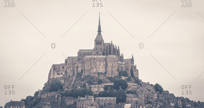 Abbey and city of Le Mont Saint-Michel