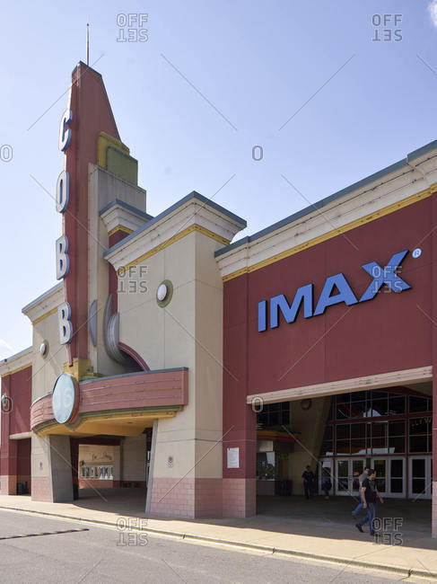 Tuscaloosa, Alabama - May 6, 2018: An Imax movie theater