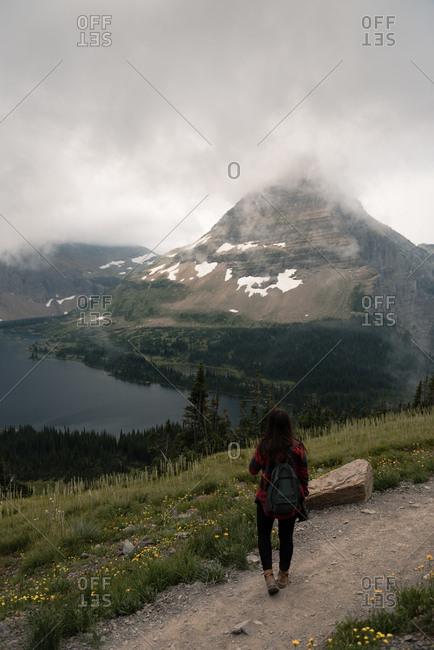 Hidden lake, Glacier National Park, Montana, USA