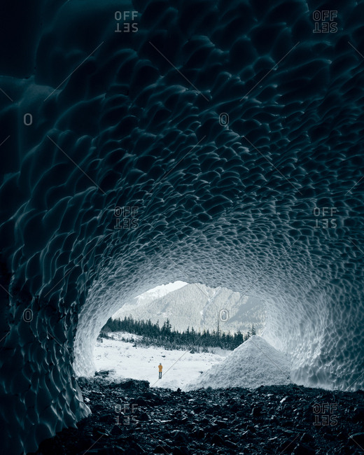 Big Four Ice Caves, Snohomish, Washington, United States