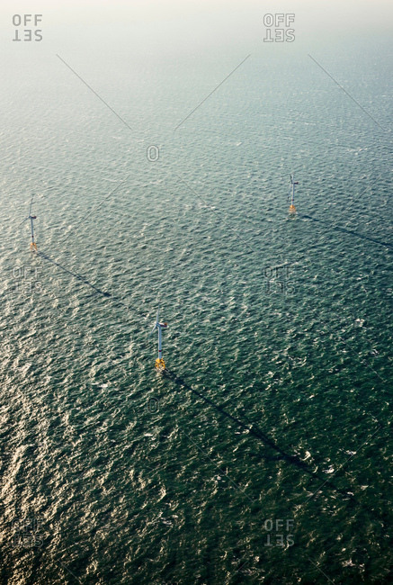 Offshore windfarm, Domburg, Zeeland, Netherlands