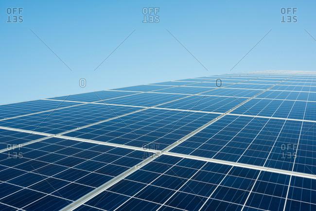 New solar farm constructed on former waste dump