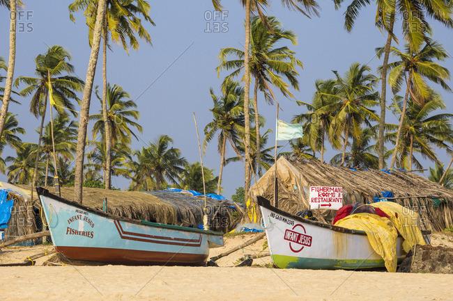 December 8, 2017: India, Goa, Colva beach