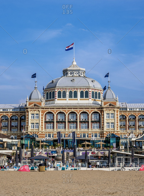 July 31, 2017: Kurhaus of Scheveningen, The Hague, South Holland, The Netherlands