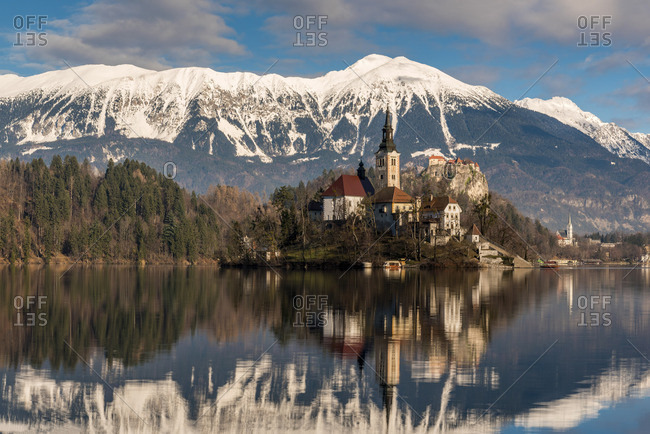 Church of the Assumption of Mary, Lake Bled, Upper Carniola, Slovenia