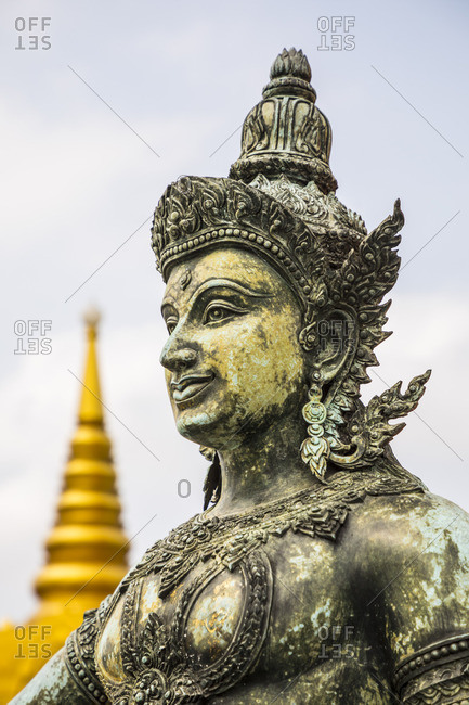 Wat Saket, Golden Mount, Bangkok, Thailand