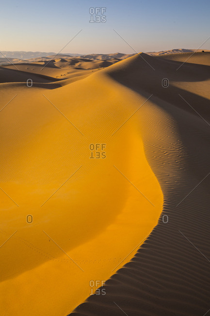Empty Quarter (Rub Al Khali), Abu Dhabi, United Arab Emirates