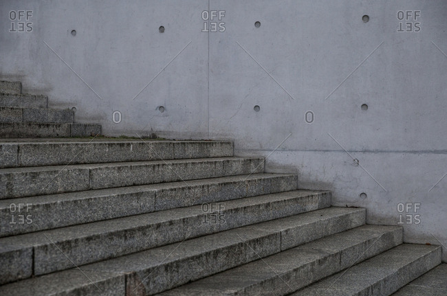 Detail of the Paul Lobe Haus in Berlin, Germany.