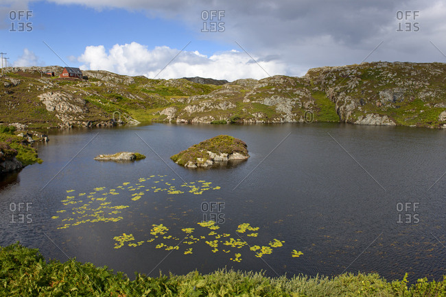 United Kingdom- Scotland- Sutherland- Assynt- Loch Maiden