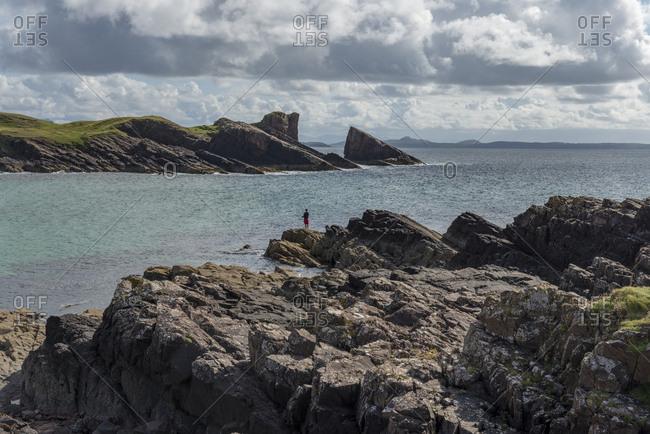 United Kingdom- Scotland- Sutherland- Assynt- Clachtoll- Bay Clachtoll