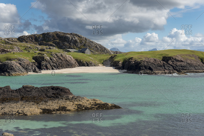 United Kingdom- Scotland- Sutherland- Assynt- Clachtoll- Beach at Bay Clachtoll