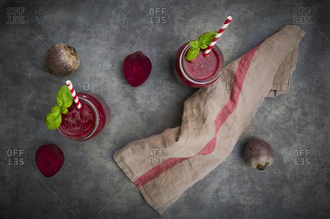 Beet root smoothie