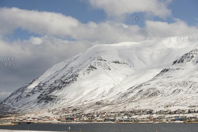 Landscape of Westfjords of Iceland