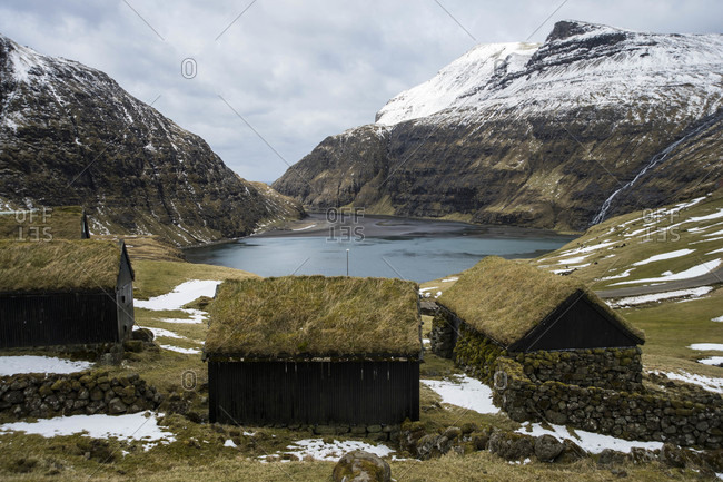Saksun in Faroe Islands