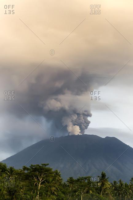 Volcano Agung, Bali, Indonesia