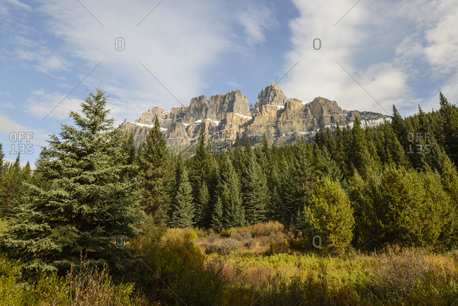 Canada, Alberta, Banff, Scenic view of mountains