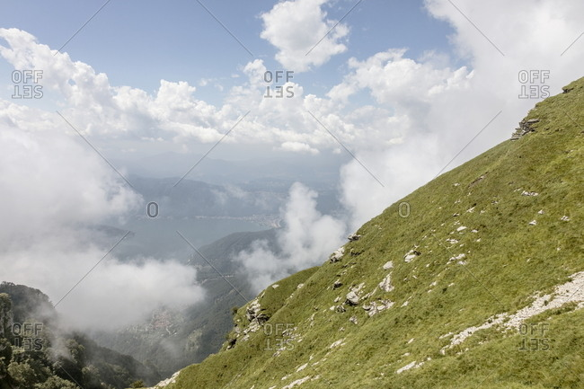 View of Monte Generoso, Ticino, Switzerland