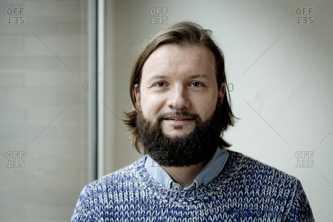 Man with beard- portrait
