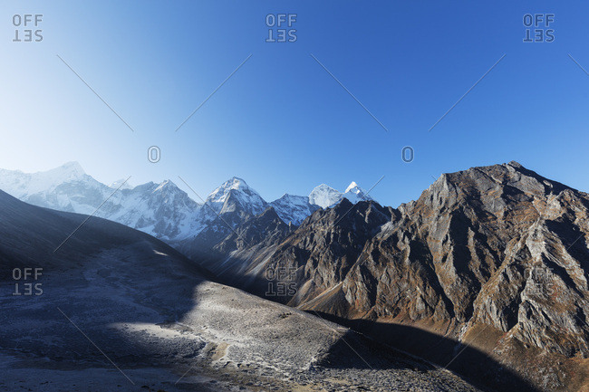 Sagarmatha National Park, UNESCO World Heritage Site, Khumbu Valley, Nepal, Himalayas, Asia