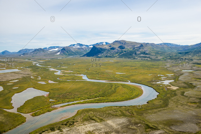 Moraine Creek (River), Katmai National Park and Reserve, Alaska, United States of America, North America