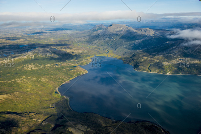 Cook Inlet coast, Katmai National Park and Reserve, Alaska, United States of America, North America