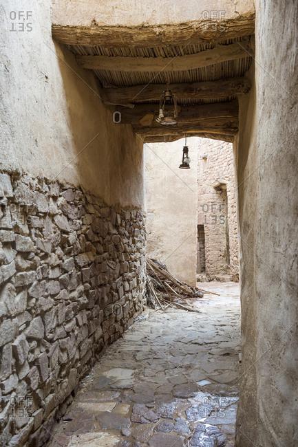 The old ghost town of Al Ula, Saudi Arabia, Middle East