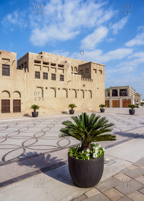 Al Shindagha Heritage Village, Dubai, United Arab Emirates, Middle East