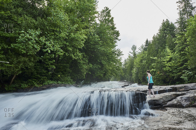 Visiting Les Cascades in Mauricie National Park, Shawinigan, Quebec, Canada