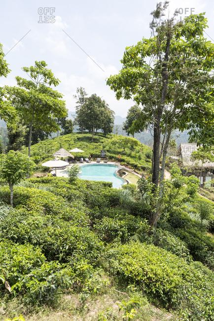 Ella, Sri Lanka - October 5, 2012: Luxury Resort in Ella, Sri Lanka