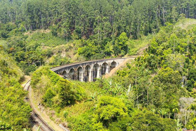 Railway in Ella, Sri Lanka