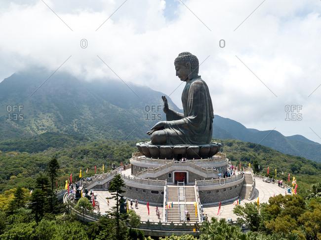Tian Tan Buddha Stock Photos Offset