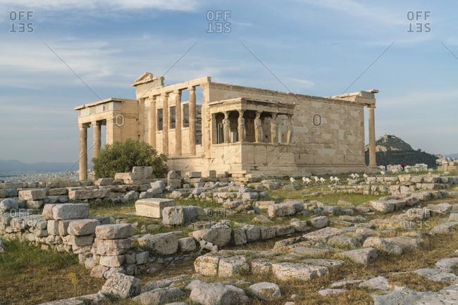 Greece- Athens- Acropolis- Parthenon