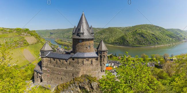 Germany- Rhineland-Palatinate- Bacharach- Upper Middle Rhine Valley- Stahleck Castle