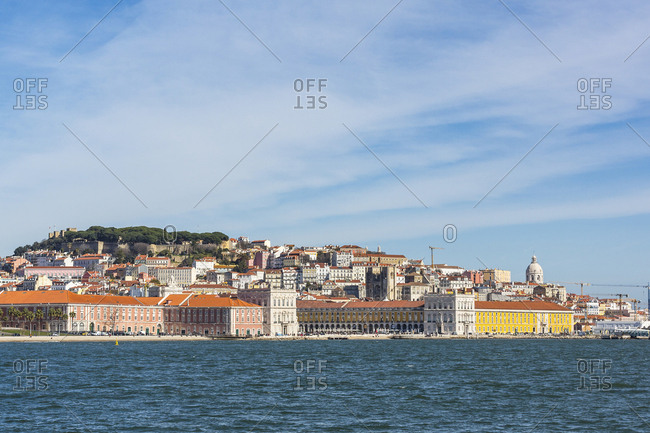 Portugal- Lisbon- city view from Tejo river