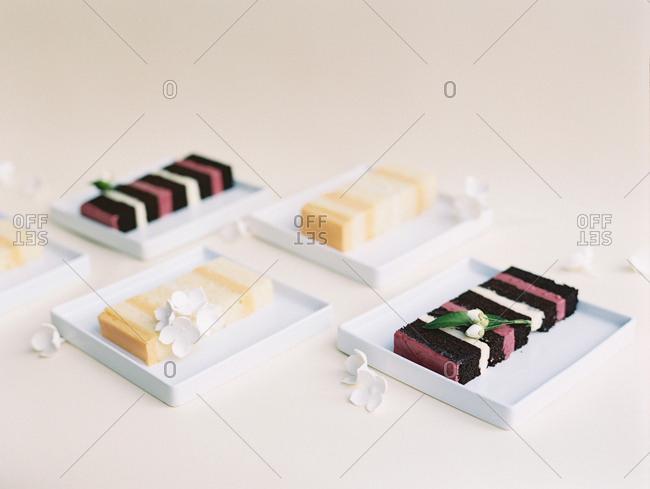 Gourmet desserts from the Offset Collection